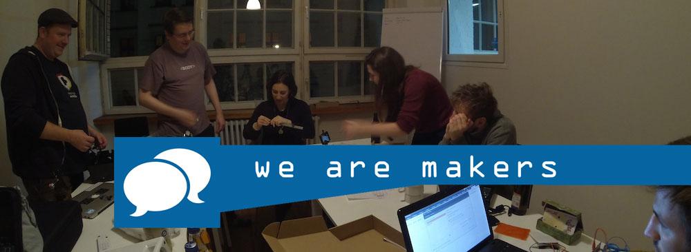 we are makers – Veranstaltungsreihe