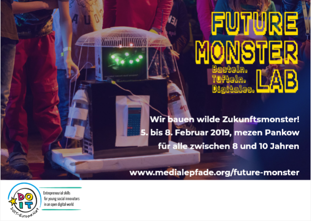 FUTURE MONSTER LAB  in den Winterferien!